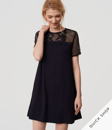 Lake Yoke Swing Dress